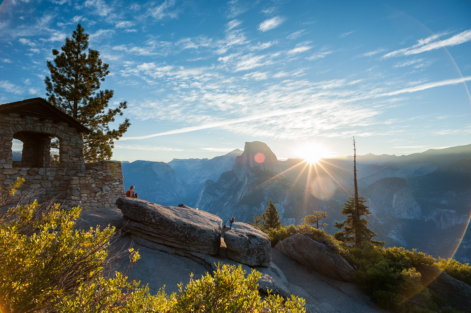 Sunrise over Half Dome from Glacier Point   on HeikkiPut.com - Nature & Wildlife Photography